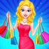 购物狂女孩时尚