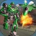 未来飞机机器人变革喷气战争