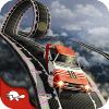 Classic Cars Simulator: 97% Impossible Track Game