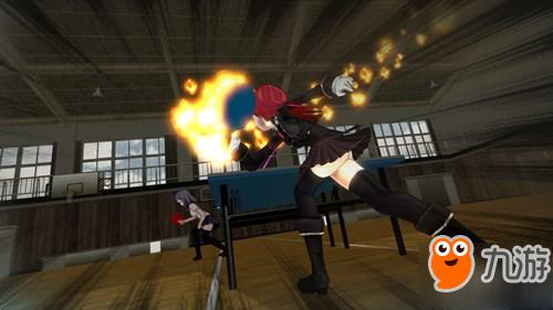 日本手游《少女乒乓物语》预约开启中 中二度爆表