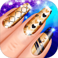 指甲水疗沙龙游戏的:女孩修指甲
