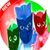 Call Pj Samoray Masks Hero 2018 prank.