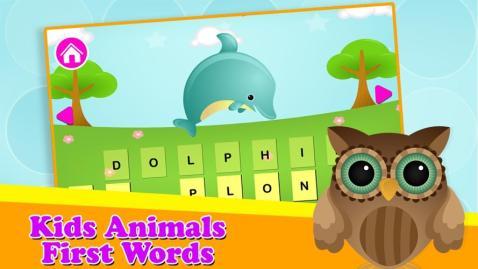孩子们第一次动物单词电脑版