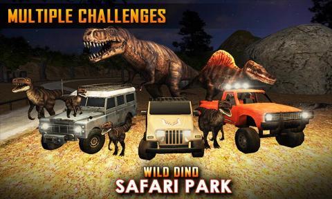 野生恐龙野生动物园公园狩猎电脑版
