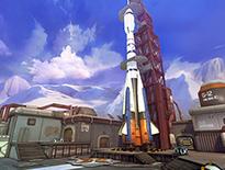《英雄使命》超火爆战场:火箭基地视频展示