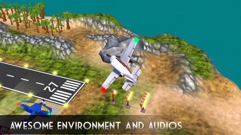 飞机飞行模拟器2017年游戏截图