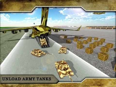 军队飞机坦克运输车游戏介绍