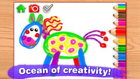 小孩子画画儿!免费