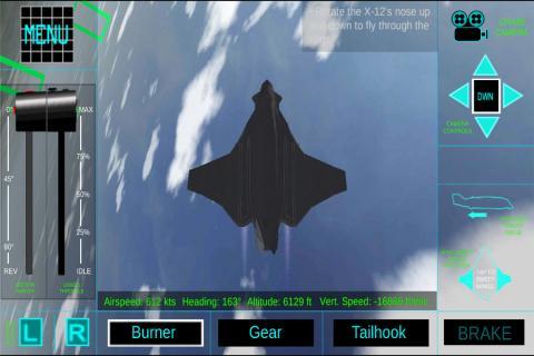 模拟飞机飞行驾驶游戏截图