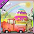 复活节彩蛋交付兔子年
