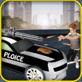 高速公路拍摄 警察追逐