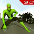蜘蛛侠英雄摩托