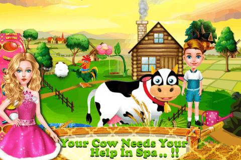 家庭生活的农场游戏