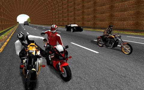 摩托车骑士死亡赛车手