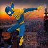 飞行蜘蛛英雄VS难以置信的怪物: 城市小孩