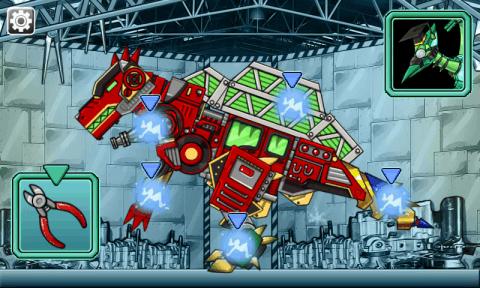 恐龍機器人: 機器棘龍圖片