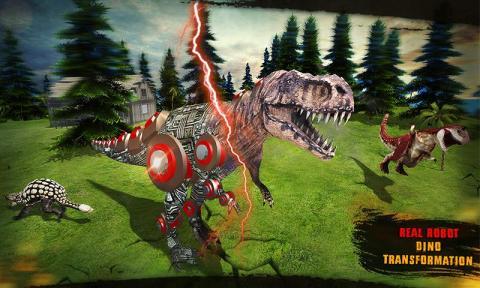 機器人恐龍轉變未來水下圖片