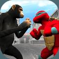 忍者龟VS怪兽猿城