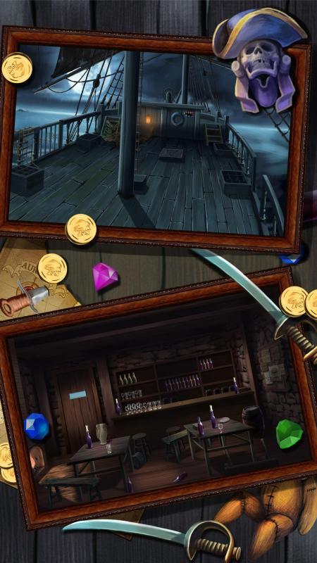 密室逃脱:逃出恐怖海盗船的监狱逃生游戏(解密游戏新作)手游图片欣赏