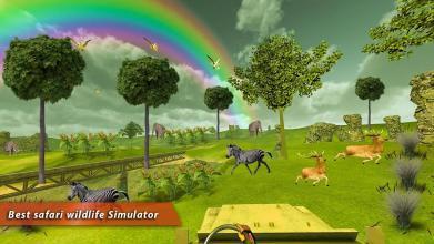 野生动物园之旅探险虚拟现实4d
