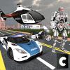警察改变机器人英雄