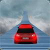 不可能的停车轨道:豪华汽车驾驶特技