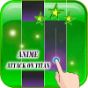 Anime piano tiles of attack on titan