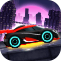 Car Games: Neon Rider Drives Sport Cars