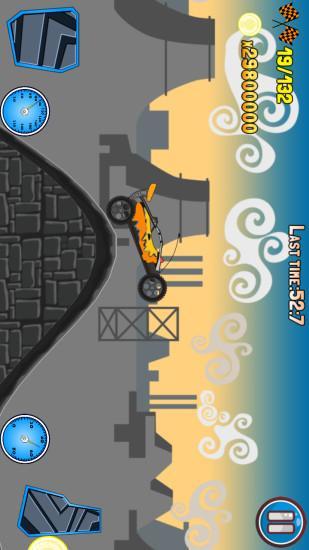 汽车爬坡登山赛车