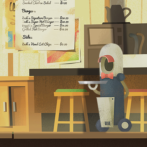 解谜冒险游戏《艾彼Abi》画面欣赏