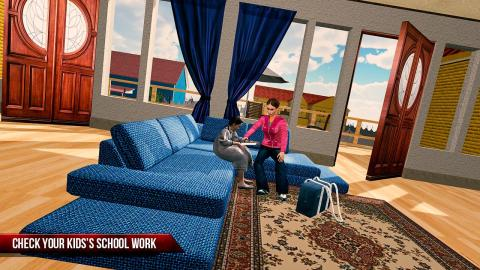 妈妈 模拟器 虚拟 现实 家庭 游戏