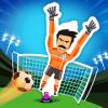 Football Strike Against Robot Goalkeeper