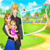 Annan and baby - Dress up games for girls/kids