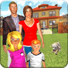 Virtual Mother-Happy Family Mom Life 3D Simulator