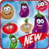 Vegetables Crush - Match 3 Game