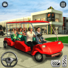 Shopping Mall Radio Taxi: Car Driving Taxi Games