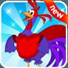 aventura do azul galinha e o roxa galo