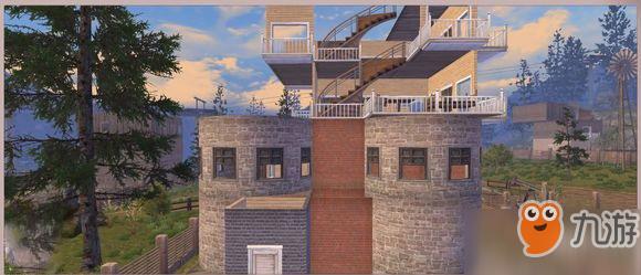 《明日之后》4级堡垒防抄家迷宫四层洋房介绍