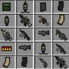 Inventory guns mod for mcpe