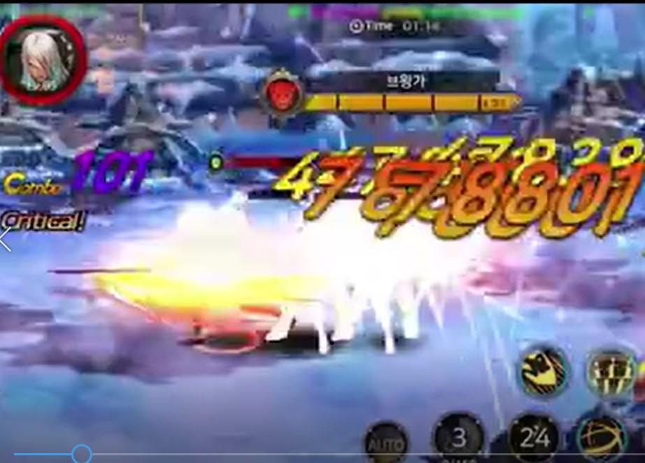 地下城与勇士M韩服测试视频