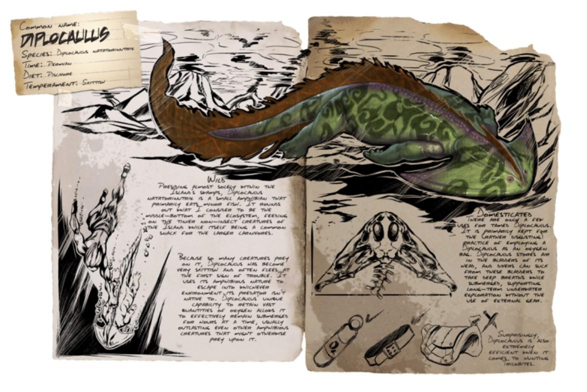 方舟生存进化手游盗首蝾螈在哪怎么抓 盗首蝾螈驯服方法
