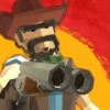 Polygon Wild West Cowboy Story - Revolver gunman