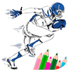 American Football Coloring