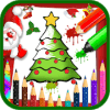 Coloring Book : Christmas Drawing Book
