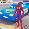 超级英雄闪电汽车特技