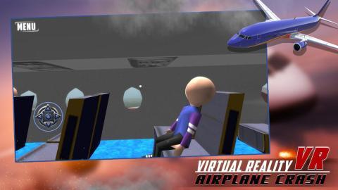 虚拟现实飞机坠毁VR手游图片欣赏