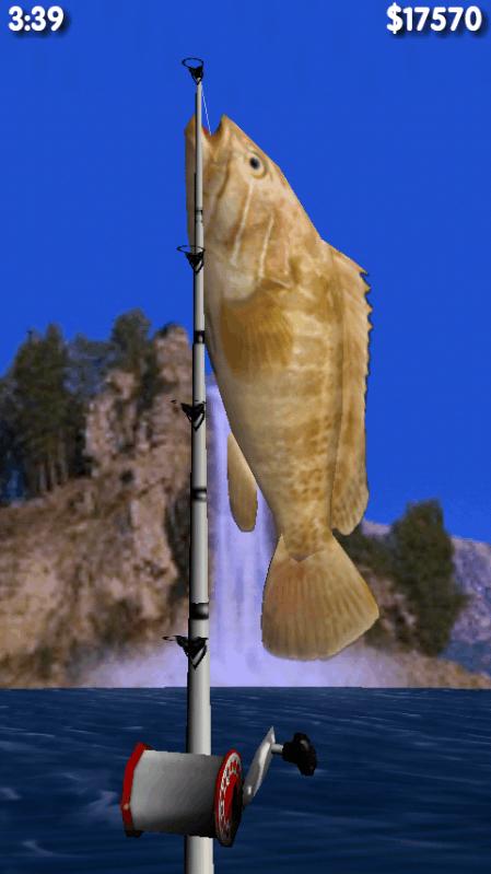 大型3D钓鱼运动手游图片欣赏