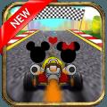 Mickey and Minnie Race