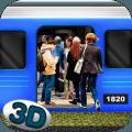 Metro Train Subway Simulator