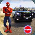 Cop Cars Superhero Stunt Simulator